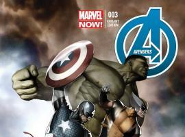 cover from Avengers (2012) #3 (GRANOV VARIANT)