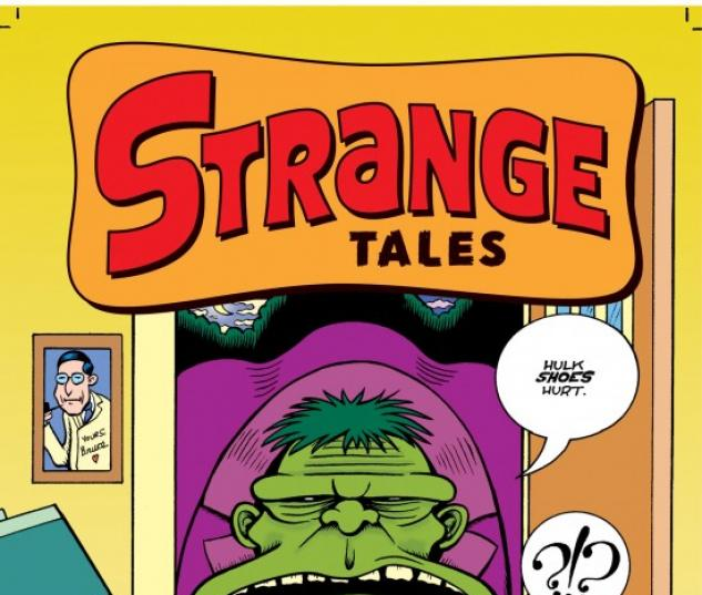 STRANGE TALES #2 Cover