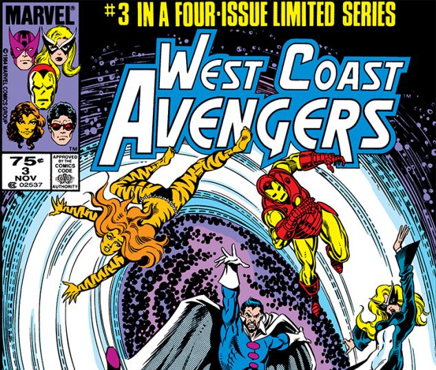 WEST COAST AVENGERS ANNUAL (1986) #3