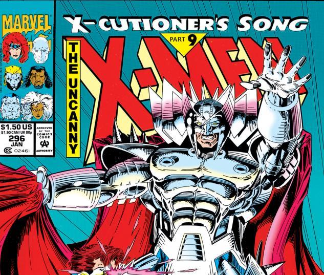 Uncanny X-Men (1963) #296 Cover