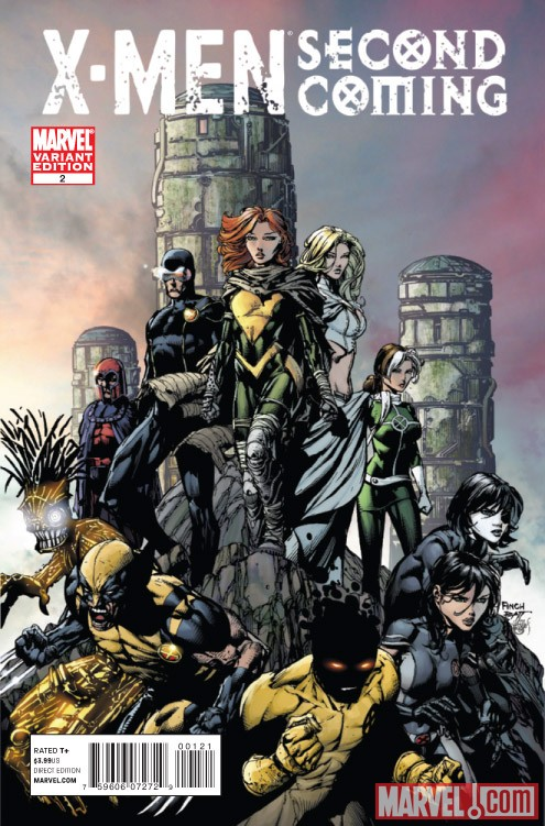 X-MEN: SECOND COMING #2 variant cover by David Finch