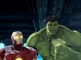 Marvel's Iron Man and Hulk: Heroes United