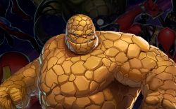 The Thing in Marvel Puzzle Quest
