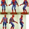 Painted prototype of Dark Horse Spider-Man statue