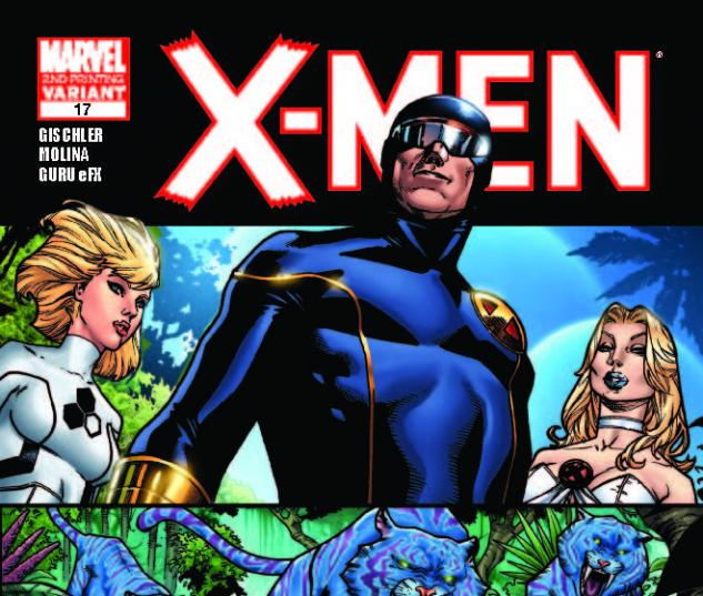 X-MEN 17 2ND PRINTING VARIANT