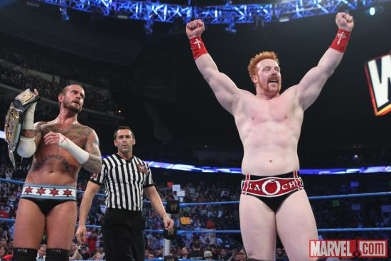Sheamus courtesy of WWE