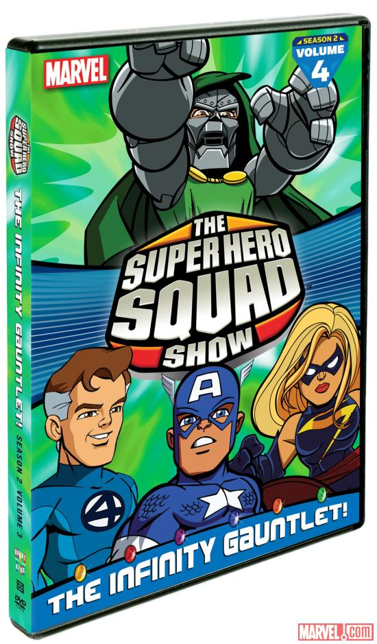 The Super Hero Squad Show: Infinity Gauntlet Vol. 4 DVD box art
