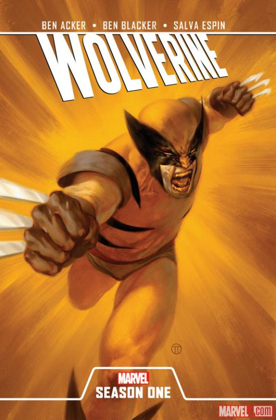 Wolverine: Season One cover by Julian Totino Tedesco