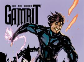 Gambit (2012) #6 Cover