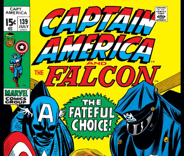 Captain America (1968) #139 Cover