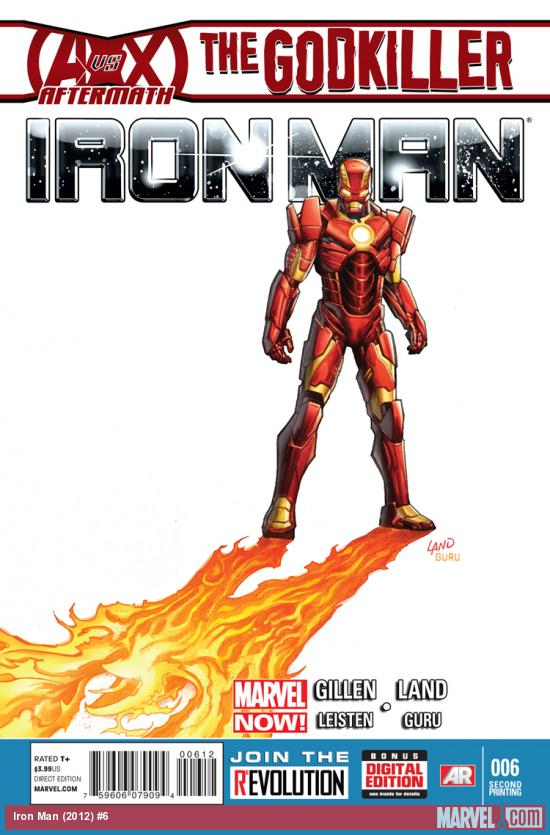 IRON MAN 6 2ND PRINTING VARIANT (NOW, WITH DIGITAL CODE)