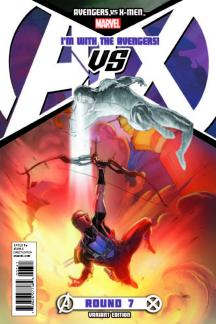 Avengers Vs. X-Men (2012) #7 (Avengers Team Variant)