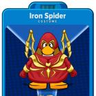 Suit Up as the Iron Spider in Club Penguin