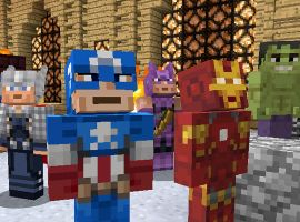 Marvel Skins Coming to Minecraft
