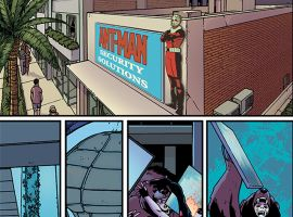 Astonishing Ant-Man #1 preview art by Ramon Rosanas