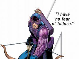 I Am An Avenger: Hawkeye promo by John Romita Jr.