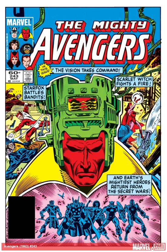 Avengers (1963) #243 Cover