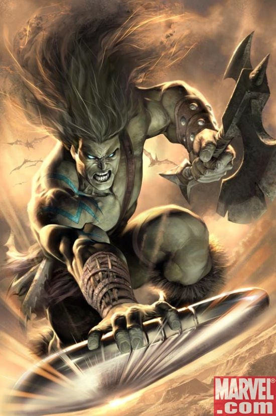 SKAAR #10 COver