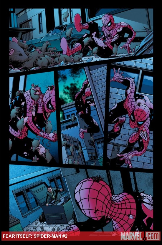 Fear Itself: Spider-Man #2 preview art by Mike McKone