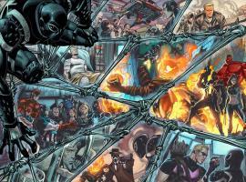 Venom #23 preview art by Thony Silas
