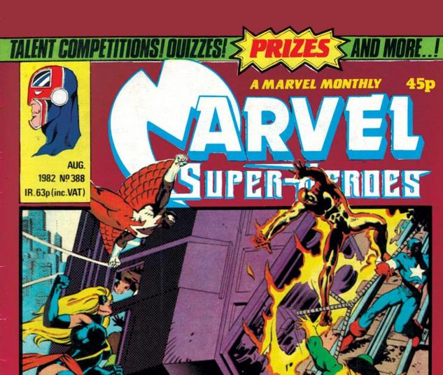 Marvel Super-Heroes (1967) #388 Cover