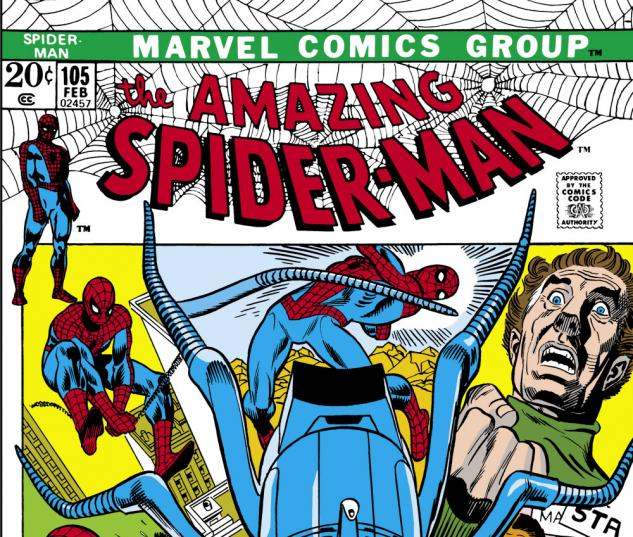 Amazing Spider-Man (1963) #105 Cover