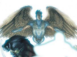 DARK X-MEN #1 cover by Simone Bianchi