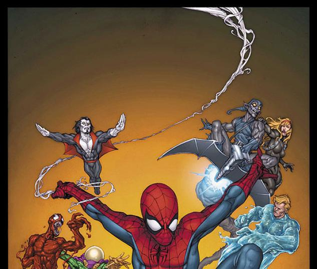 OFFICIAL HANDBOOK OF THE MARVEL UNIVERSE (2007) (SPIDER-MAN) COVER