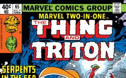 Marvel Two-in-One (1974) #65 Cover
