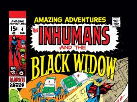 Amazing Adventures (1970) #4 Cover