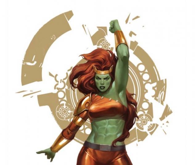 Fall of the Hulks: The Savage She-Hulks (2010) #1 (VARIANT)