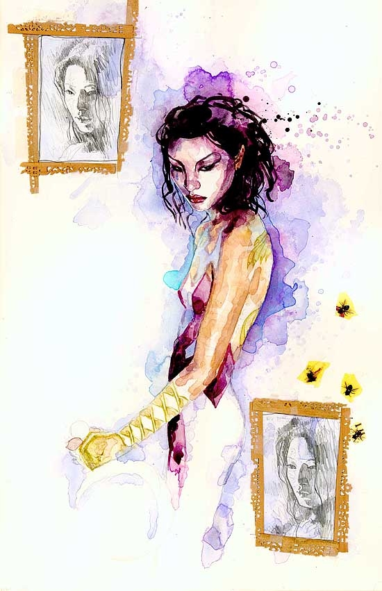 KABUKI (1999) #3 COVER