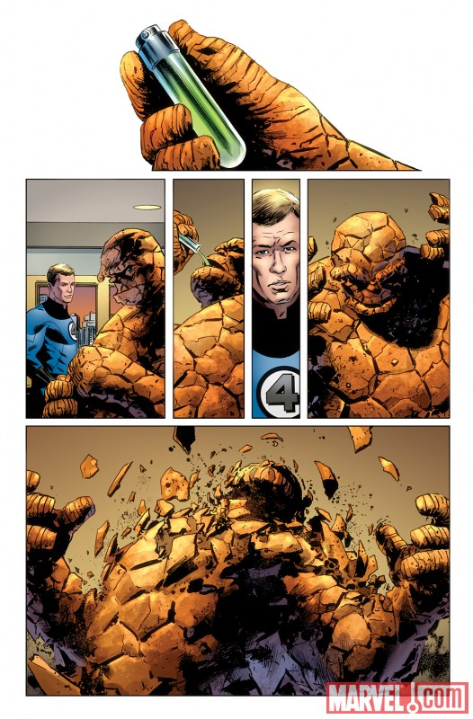 Image Featuring Human Torch