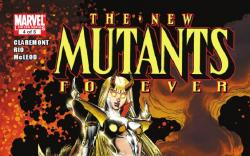 NEW MUTANTS FOREVER #4 cover by Art Adams