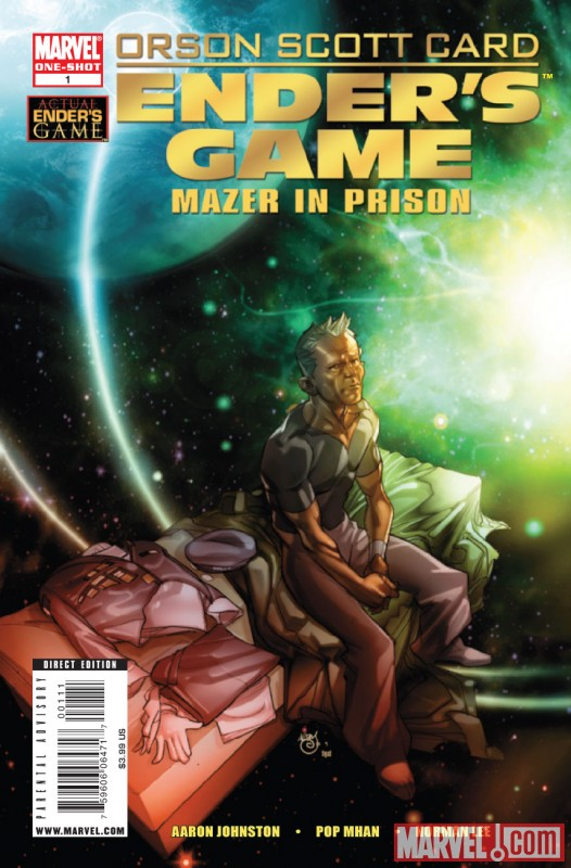 ENDER'S GAME: MAZER IN PRISON SPECIAL #1 Cover by Marshall Rogers