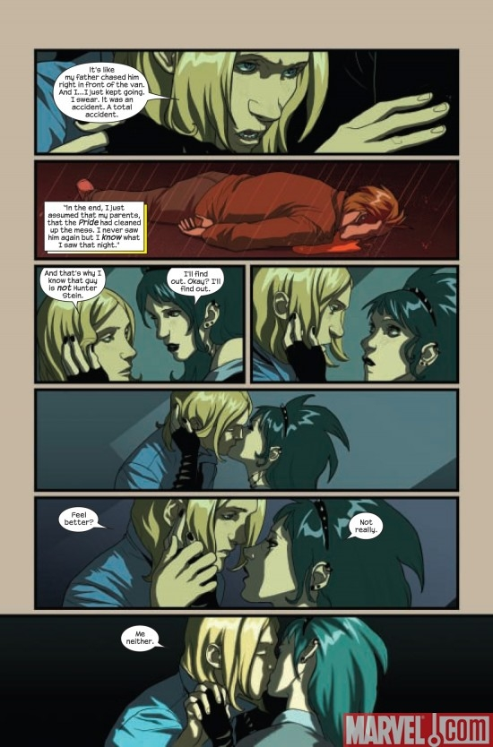 RUNAWAYS #13, page 4