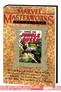Marvel Masterworks: Atlas Era Jungle Adventure Vol. 1 (Variant) (Hardcover)
