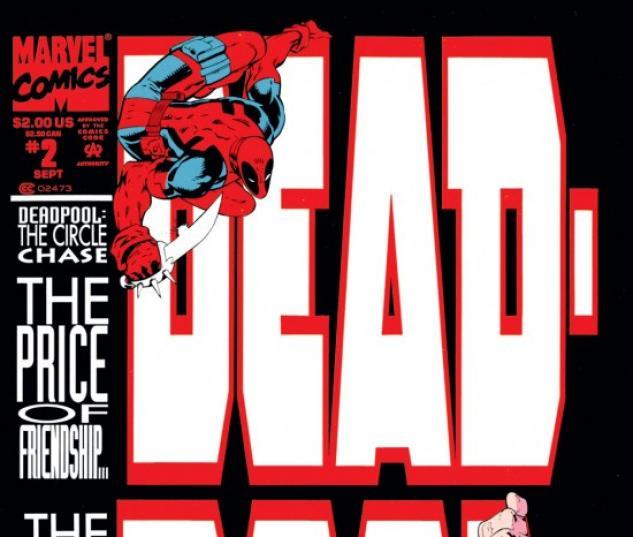 DEADPOOL #2 COVER