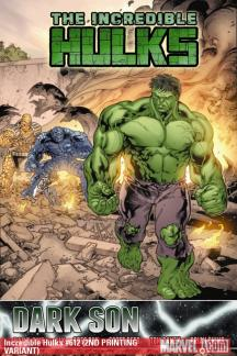 Incredible Hulks (2009) #612 (2ND PRINTING VARIANT)