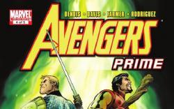 AVENGERS PRIME #4 cover by Alan Davis