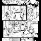 Amazing Spider-Man #666 inked preview art by Stefano Caselli