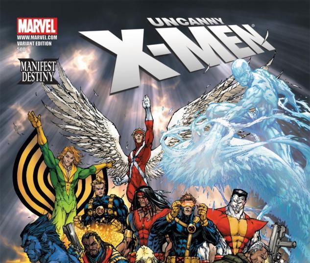 Uncanny X-Men (1963) #500, TURNER VARIANT