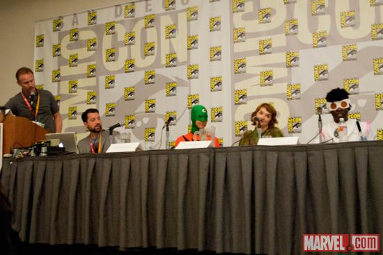 SDCC 2012: All Winners Squad Panel