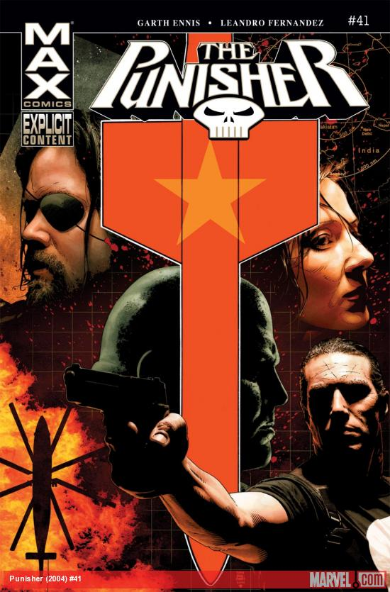 Punisher (2004) #41 Cover