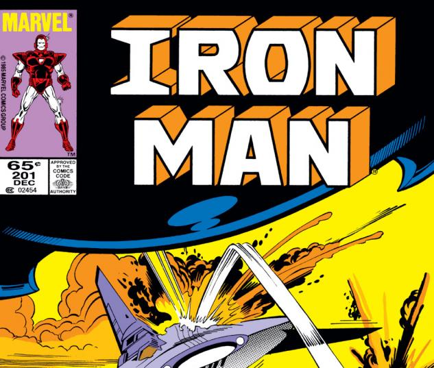 Iron Man (1968) #201 Cover