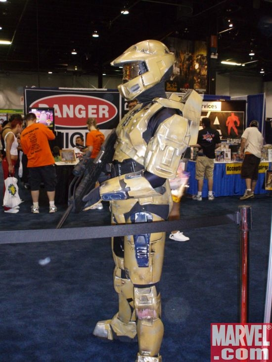 The Master Chief Guards Wizard World