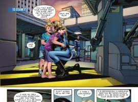FANTASTIC FOUR #584 preview page by Steve Epting