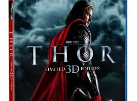 Thor Blu-ray 3D Three-Disc Combo Pack box art