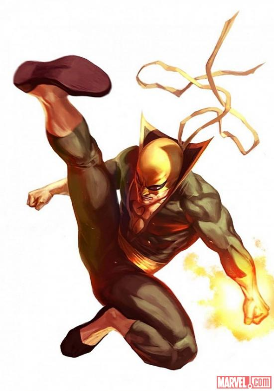 Iron Fist by Marko Djurdjevic