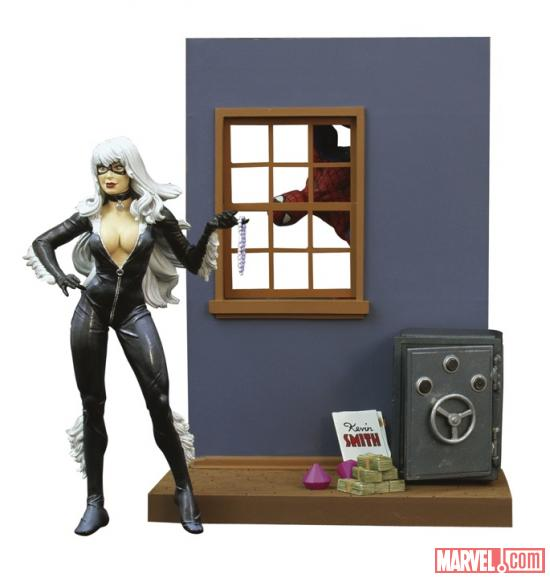 Black Cat figure from Diamond Select Toys